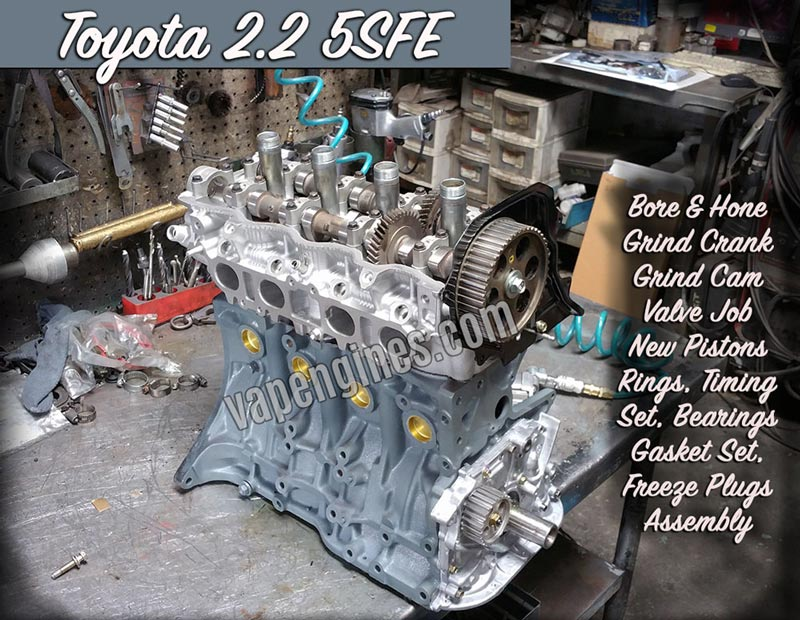 Toyota engine Rebuild photos
