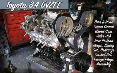 Toyota 5VZ Engine Rebuild Shop