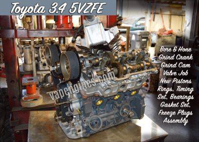 Toyota 5VZFE Engine Rebuild Auto Shop
