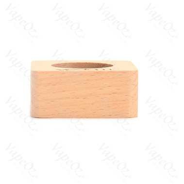 Vpdam Square Base Wood Tank Stand for 510 Thread Atomizers 4