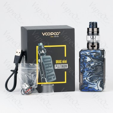 VOOPOO Drag Mini Platinum Edition 117W TC Kit with UFORCE T2 4400mAh Box VapeOz