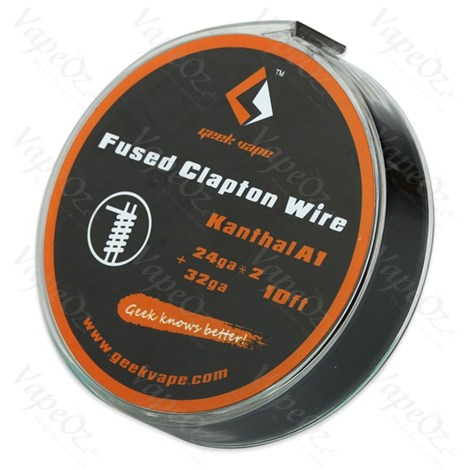 Kanthal A Fused Clapton Wire 10ft VapeOz