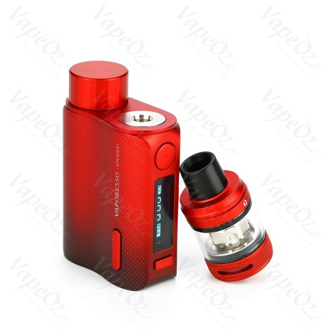 Vaporesso Swag Kit W NRG PE Tank Red Tank Off VapeOz