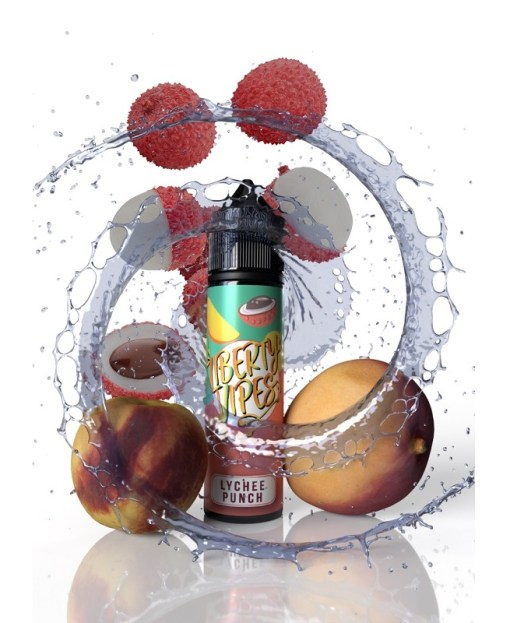 lychee punch 60ml by liberty vipes 2