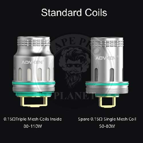 Big Mesh Coil 0.15ohm By Advken