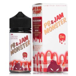 Jam Monster PB & J Strawberry Vape Juice