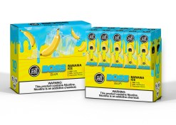 Puff Labs Boss Bar Disposable Banana Ice