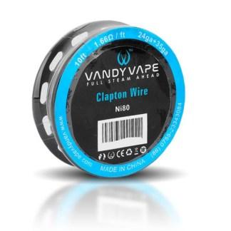 Vandy Vape Clapton Wire Ni80 10ft
