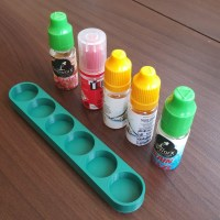 E-Liquied Juice Holder For Six Bottles