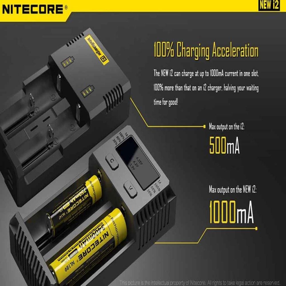 New Nitecore i2 Charger