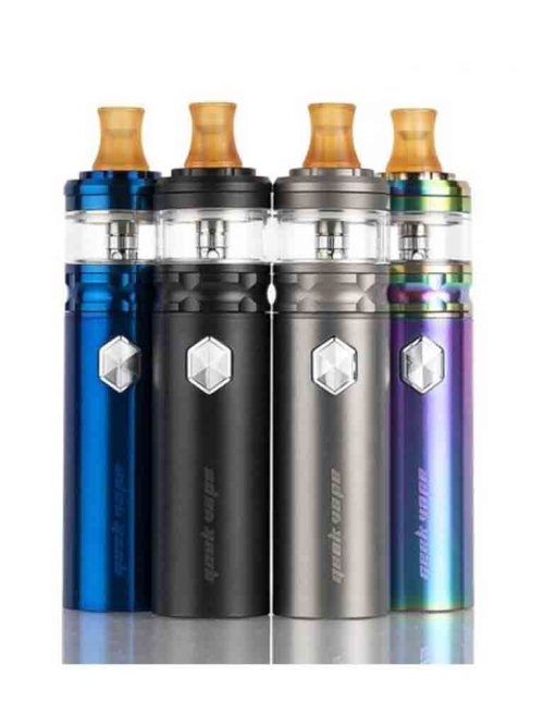 Flint Starter Kit By Geekvape is a waterproof and compact AIO MTL kit which is powered internally via a 1000mAh built in battery. The Flint Tank adopts the NS 1.6ohm coil for pure flavour and smoother vape.