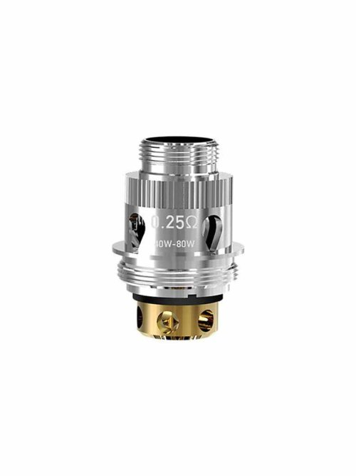 Sigelei MS Replacement coil 0.25ohm, capable of 40 to 80W. Used in conjunction with the Sigelei Sobra Sub-Ohm Tank system and the chronus and shikra Tank.