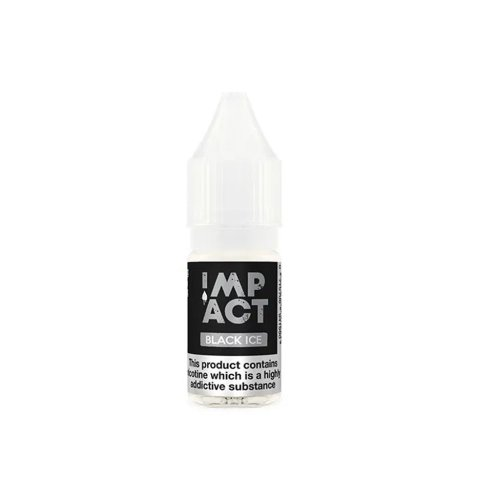 Black Ice By Impact E-Liquid.