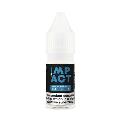 Mental Menthol Blueberry By Impact E-Liquid