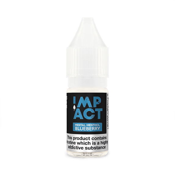 Mental Menthol Blueberry By Impact E-Liquid