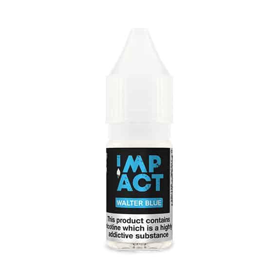 Walter Blue By Impact E-Liquid