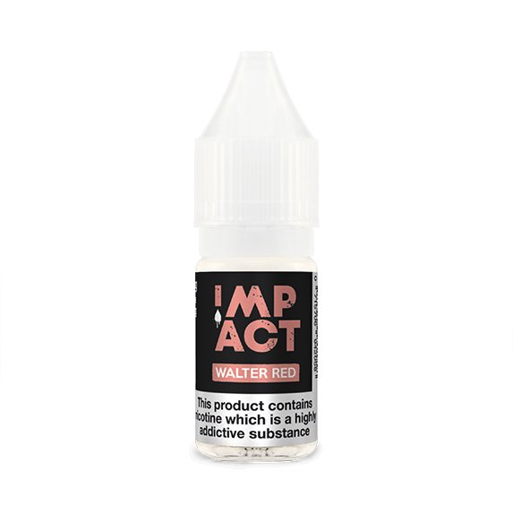 Walter Red By Impact E-Liquid