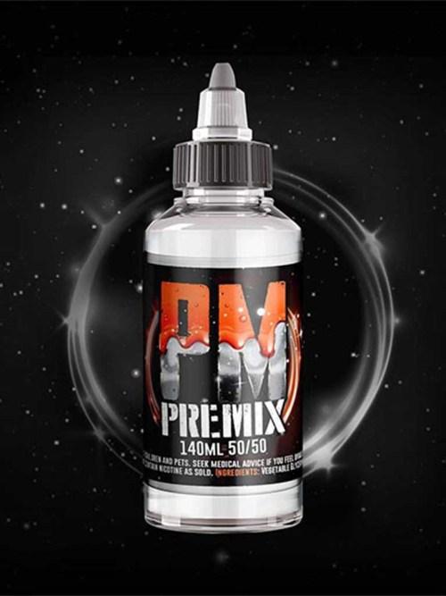 Premixed E-liquid Base 140ml 50vg/50pg