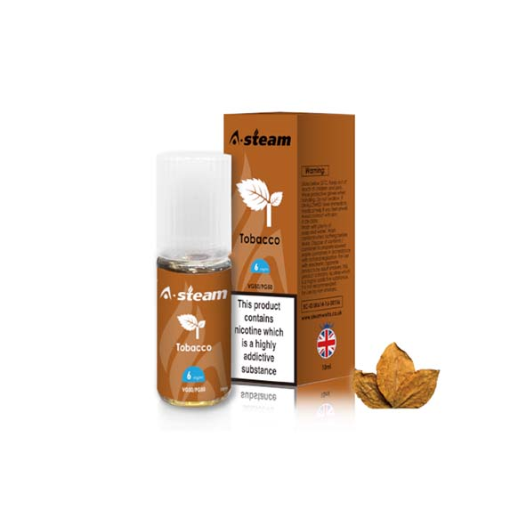 Tobacco 10ml E-liquid By A-steam