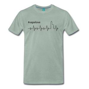 Dampfer T-Shirt - Heartbeat - Vapelove