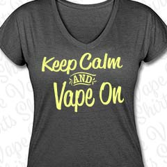 Keep Calm and Vape On - Damen T-SHirt