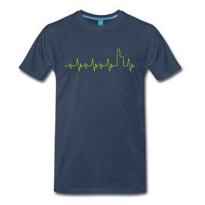 Dampfer T-Shirt - Heartbeat