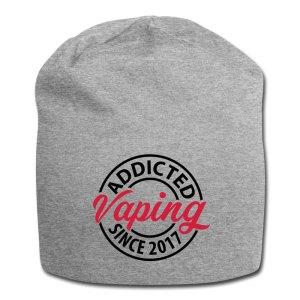 Dampfer Mütze mit Vaping - Addicted Since 2017