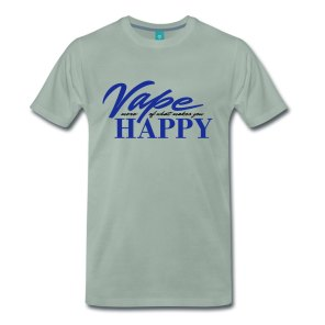 vape-happy-maenner-premium-t-shirt