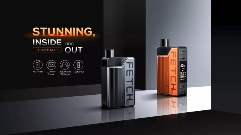 SMOK Fetch Mini Kit Stunning from the inside out