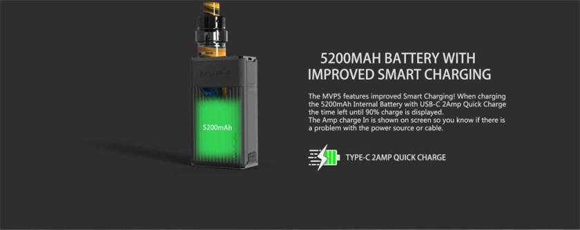 Innokin MVP5 Starter Kit 120W Battery with Improved Smart Charging