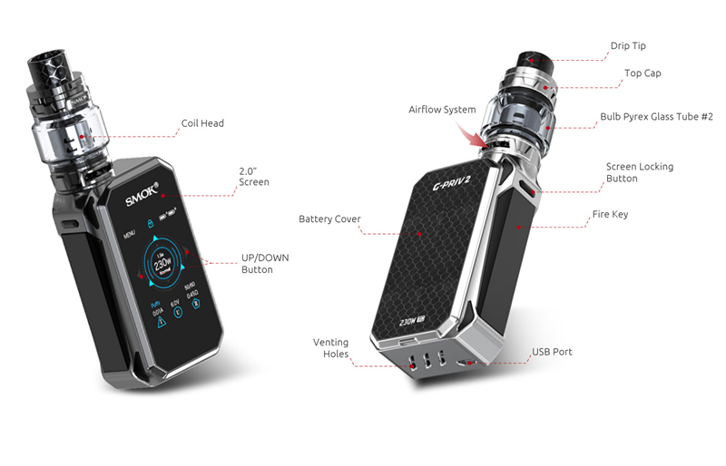 G-PRIV 2 Kit Luxe Edition