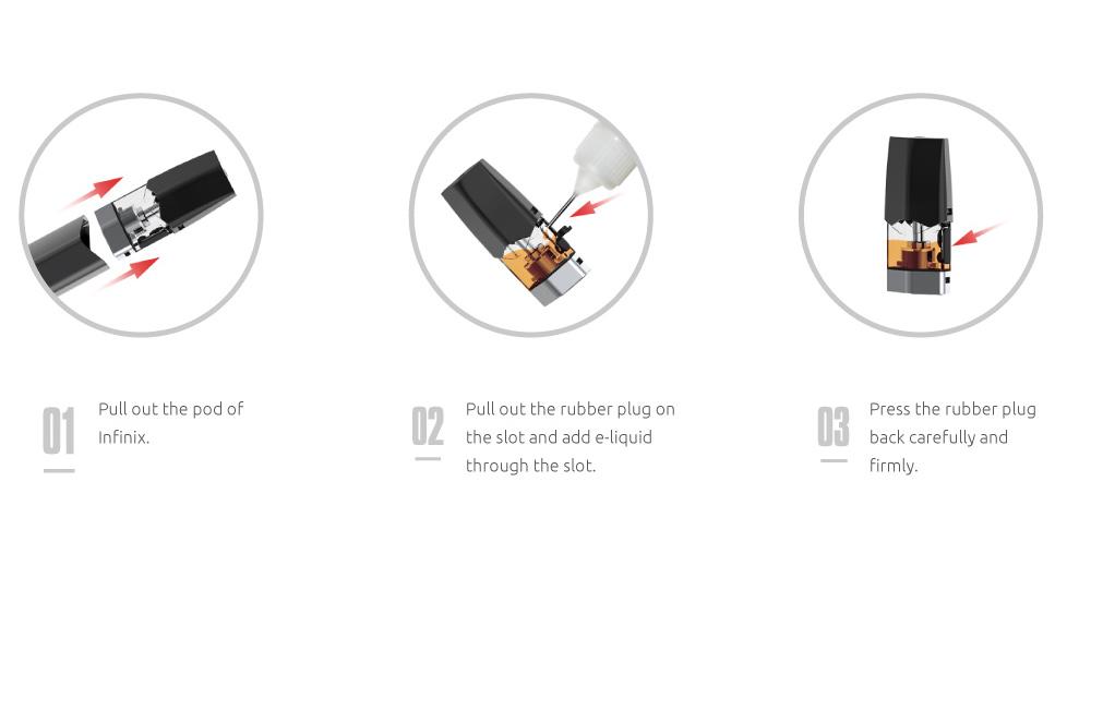 SMOK INFINIX Kit 250mAh Pod System Kit Cheap Price For