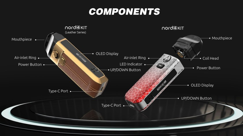 SMOK Nord 4 - Components