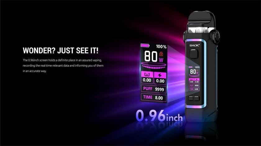 SMOK IPX 80 Screen
