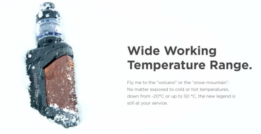 geekvape L200 -20~50℃