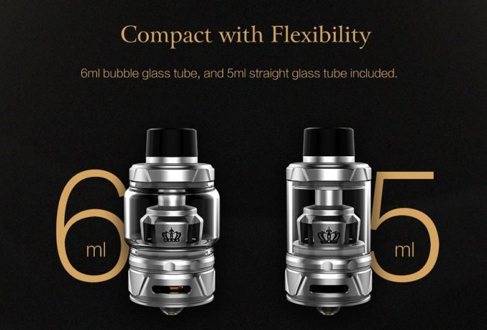 Crown IV atomizer