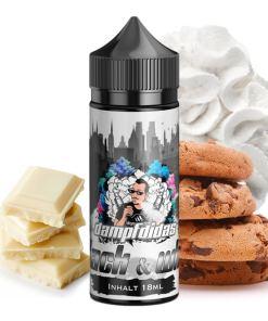 Dampfdidas Longfill Aroma Black and White 18ml