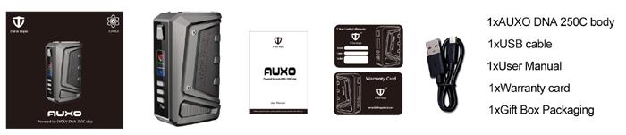 auxo dna 250c 200w box mod by thinkvape 7
