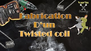 Fabrication d'un Twisted Coil