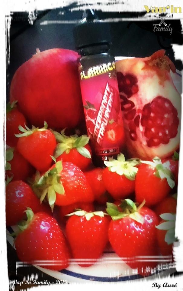 Pomegranate strawberry