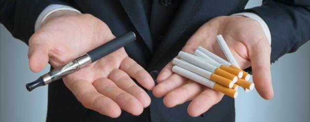 e cigarette vs cigarette