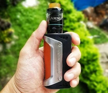 single 18650 box mod