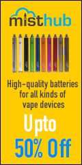 misthub Vape batteries deals