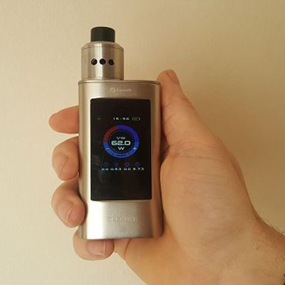 best touch screen vape mod