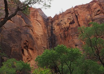 Cliffs along the Virgin River, Riverside Walk