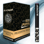 Presidential Peach White Rhino Blacklight E-Hookah 6mg