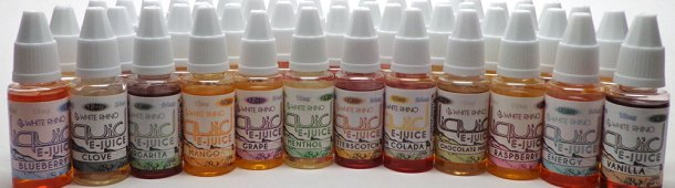 White Rhino E-Liquid One Week Special