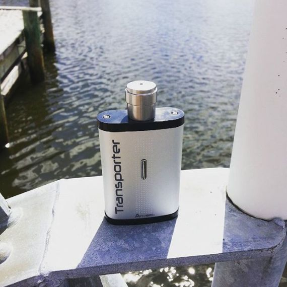 The Transporter from #atmosrx is a flask shaped #dryherb #vape perfect for #adventures #outdoors. Get it at ezvapes.com #ezvapes #vapetheworld #vapelifestyle #vapefam #vapefamily #vapelife #summer #summertime