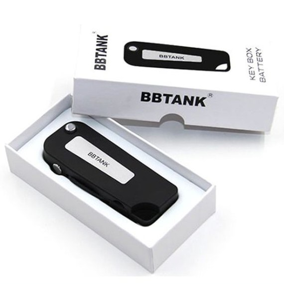 BBTank #cartridgevape battery folds up and disguises as a #keyfob. Press the button and out flicks your #cartridge for a quick #vape session. Order now at ezvaporizers.com #ezvapes #vtw #vapetheworld #oilcartridge #cartlife #oilcart #710cartrdige #710cart