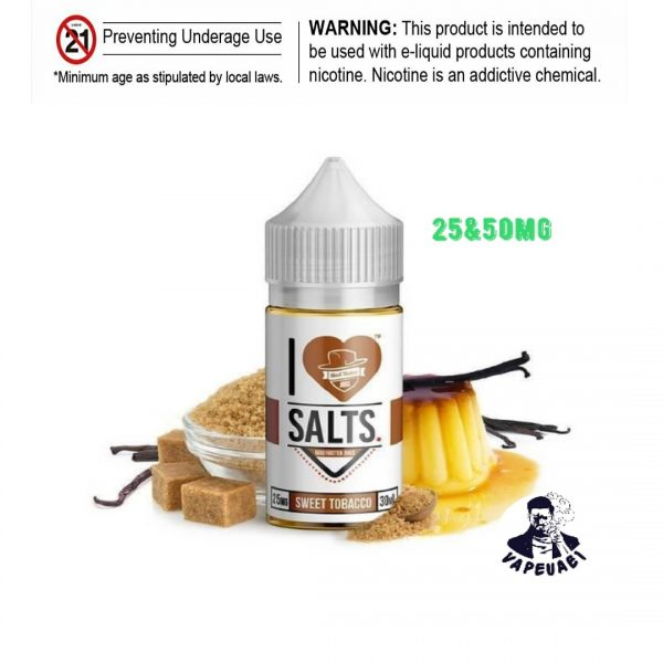 SWEET TOBACCO I Love Salts by Mad Hatter Juice